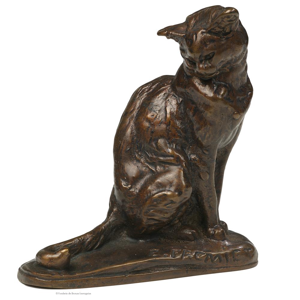 Bien connu sculpture-chat-bronze-chat-fremiet QF19